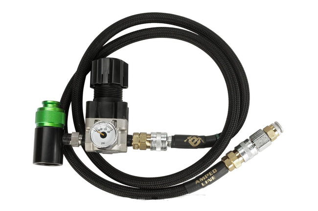 "Amped Airsoft SLP QD Air Regulator System for Polarstar Fusion Engine / PR-15 Airsoft EPAR Rifles w/ 36"" Air Hose"