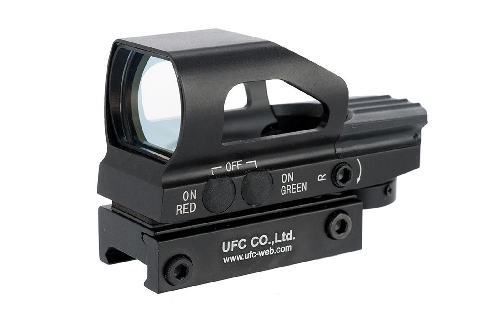 UFC HD104 Variable Reticle Panorama Red Dot Sight