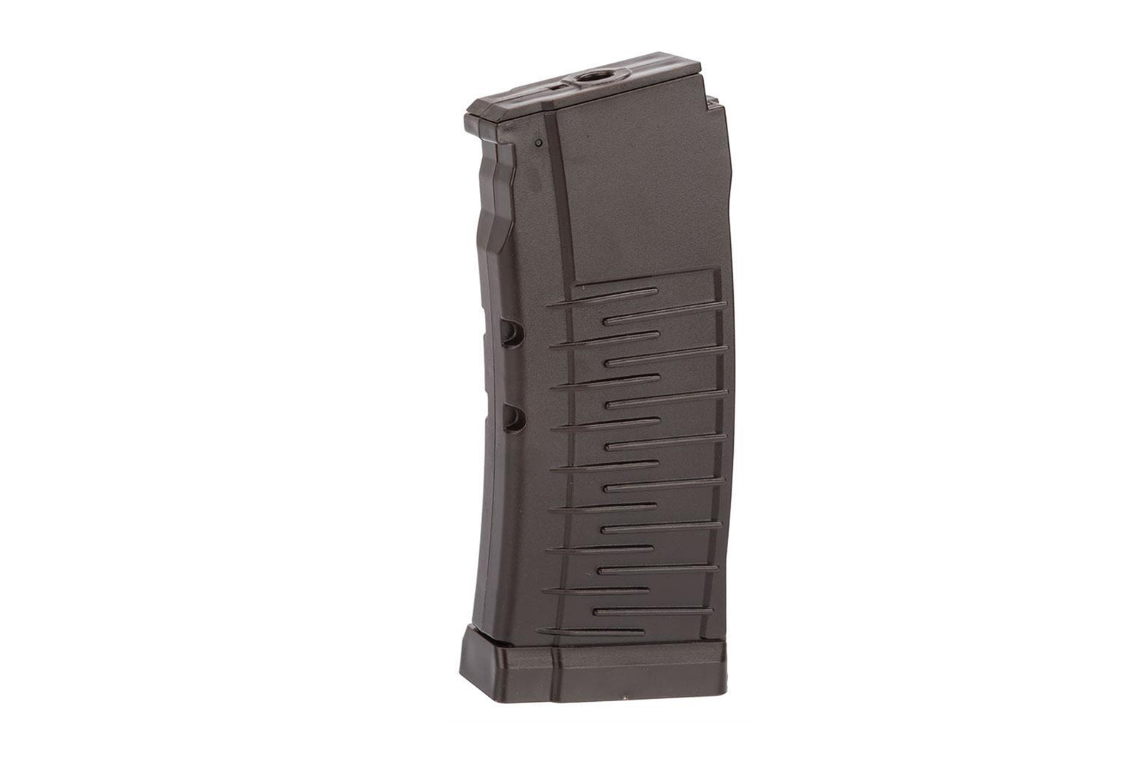 LCT Polymer Mid-Cap Magazine for AS-VAL/VSS/SR-3M Airsoft AEG (Color: Plum / 50rd)