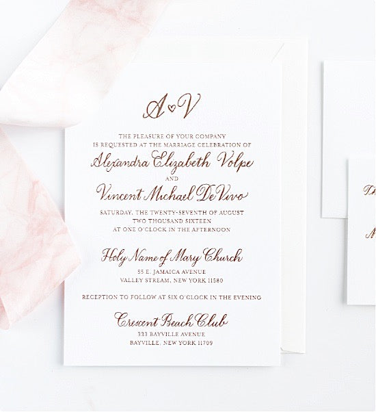 Custom Wedding Calligraphy Services Laura Hooper Calligraphy