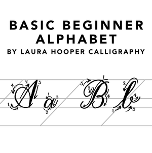 Beginner Calligraphy Kit: Starter Supplies + Online Course