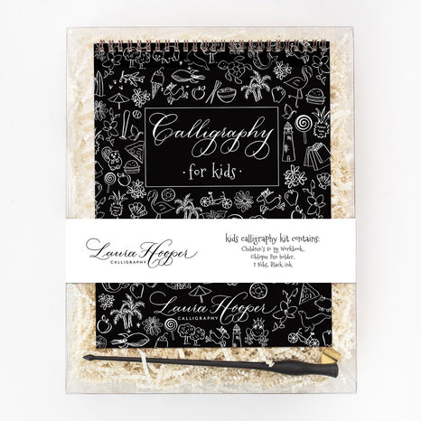 Laura Hooper Calligraphy - Calligraphy For Kids Kit