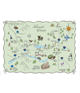 Custom Map Digital File