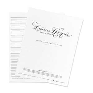 Calligraphy Quality Paper Pads - Lined