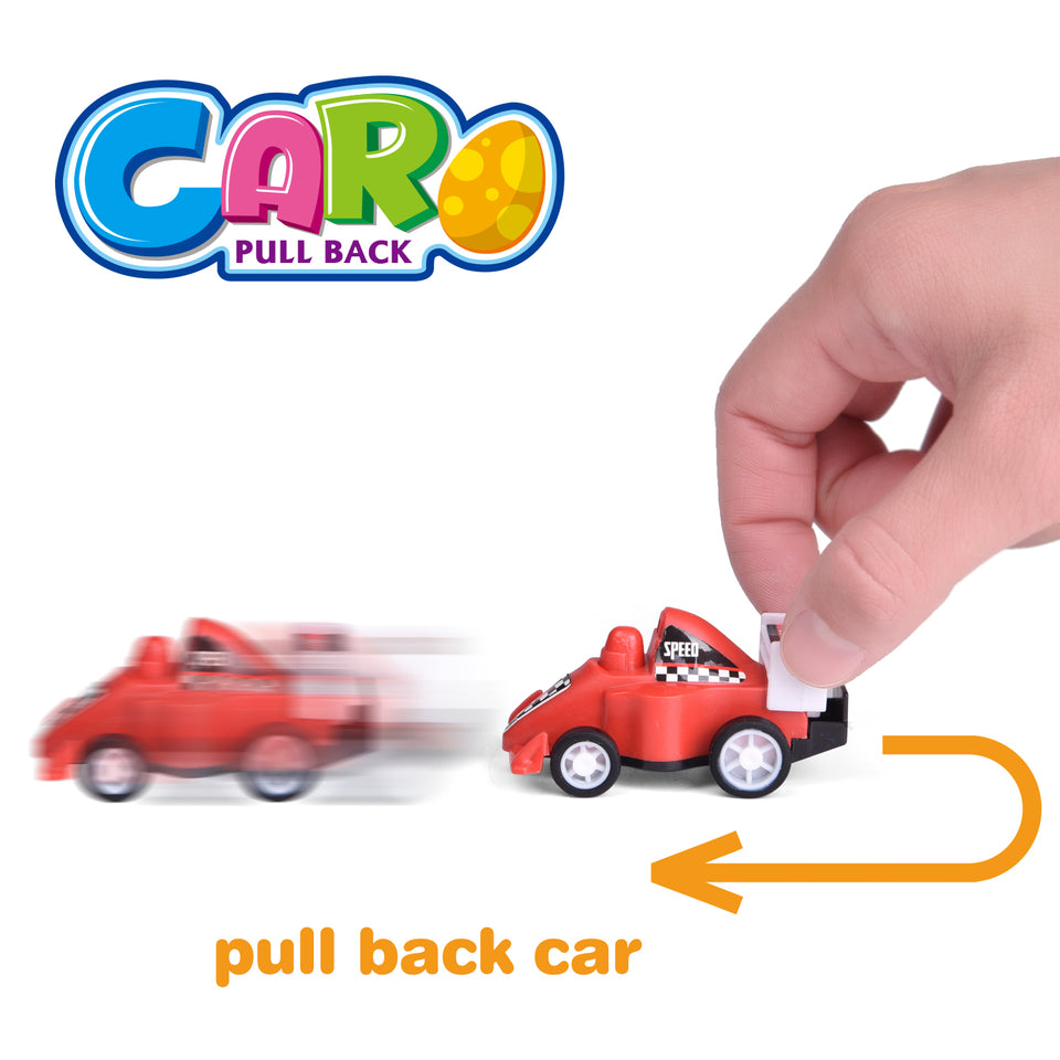 24 Pcs Mini Pull Back Cars Toy Vehicles for Kids Party Favors, Goodie Bags Fillers, Classroom Prizes, Pinata Fillers