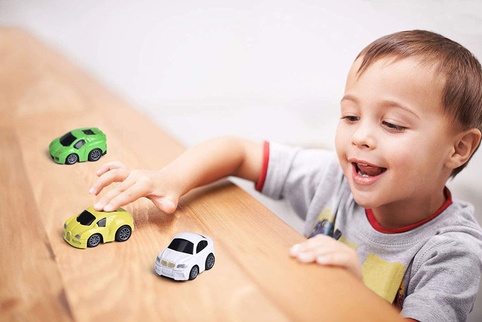 12 Pcs Pull Back Cars Toy Vehicles for Party Favors, Goodie Bags Fillers, Classroom Prizes, Pinata Fillers