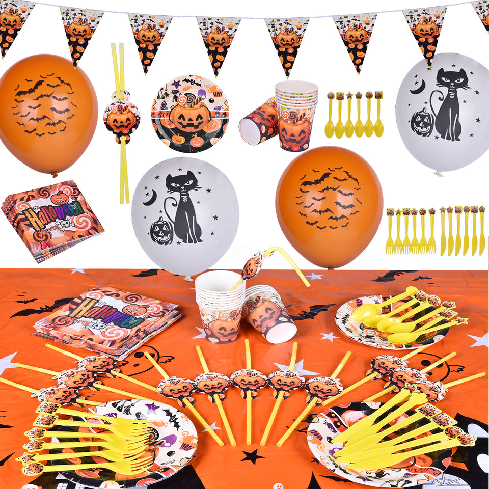 96 PCs Halloween Party Supplies