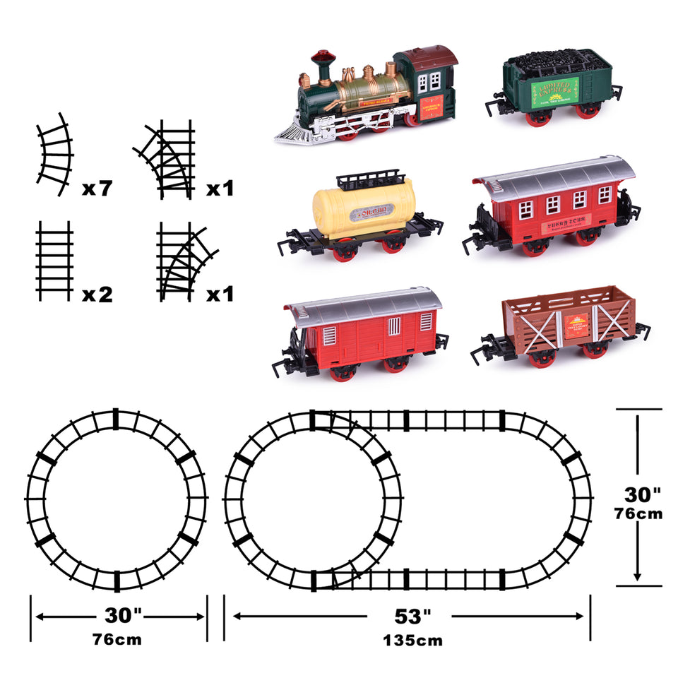 Train Set Classic Electric Train Toy
