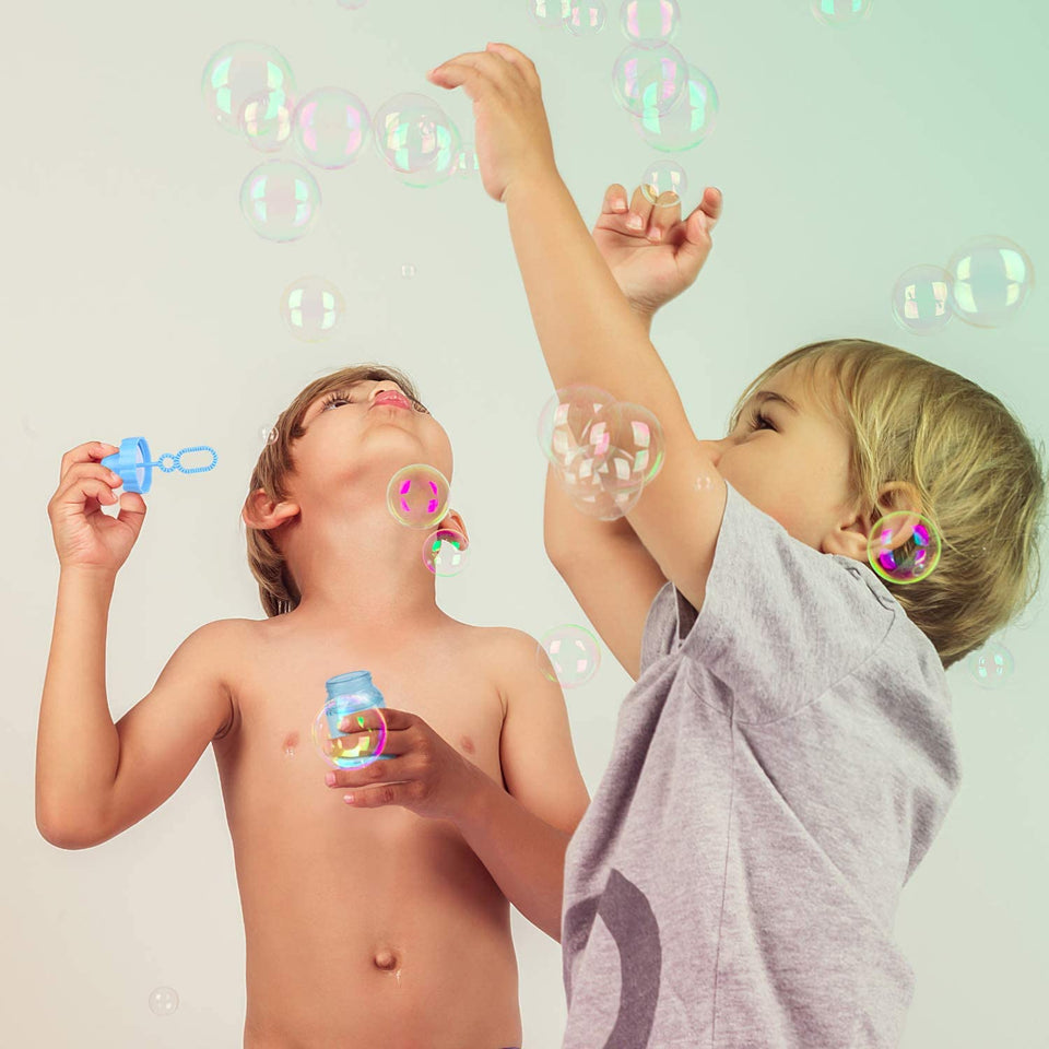 18 PCs Bubble Wands for Kids
