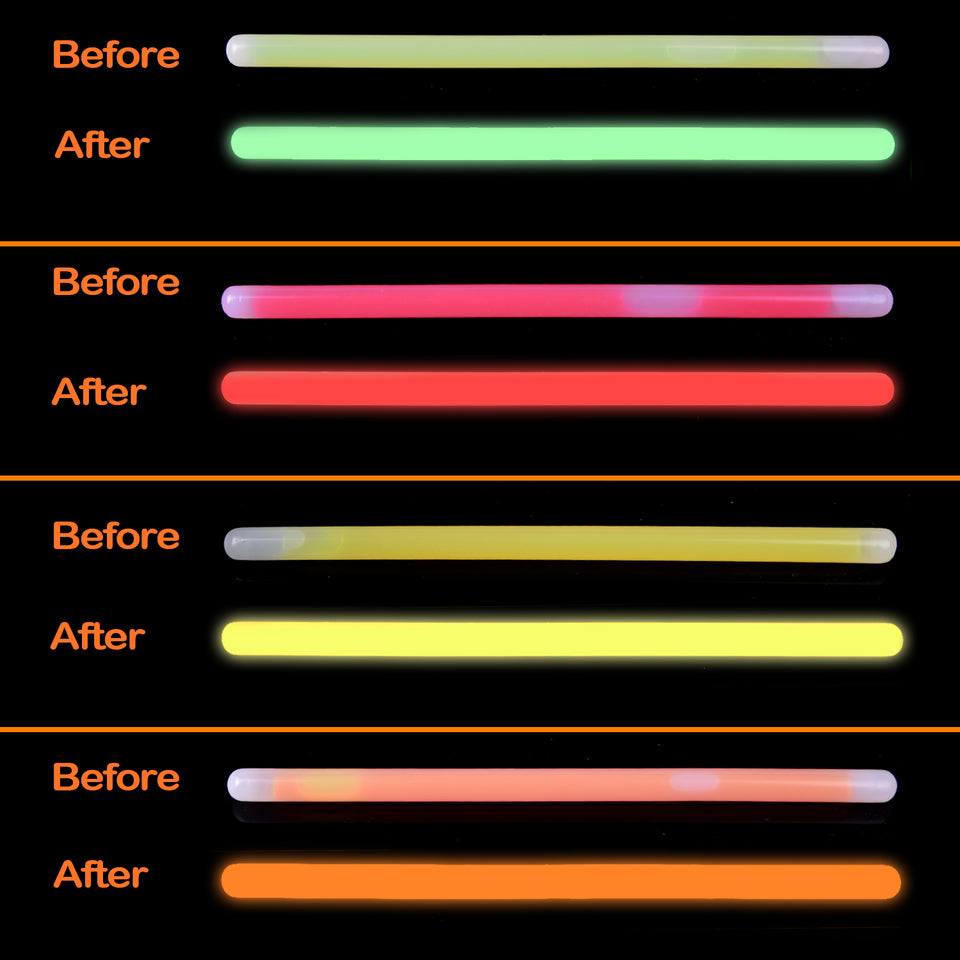 12 PCs Halloween Glow Sticks for Kids