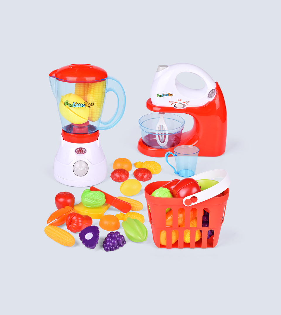 Kids Play Kitchen, Pretend Play Set