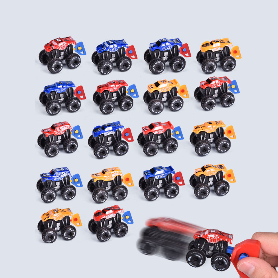 18 PCs Toy Vehicles for Party Favors, Goodie Bags Fillers, Classroom Prizes, Pinata Fillers