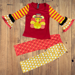 Turkey Thanksgiving Pants Set