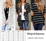 Stripe Cardigan in two colors