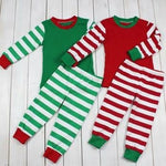 Youth Christmas PJs Stripes and Dots