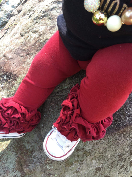 Cranberry Icing Leggings
