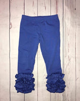 Royal Blue Icing Leggings