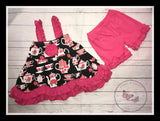 Tea Party shorts set