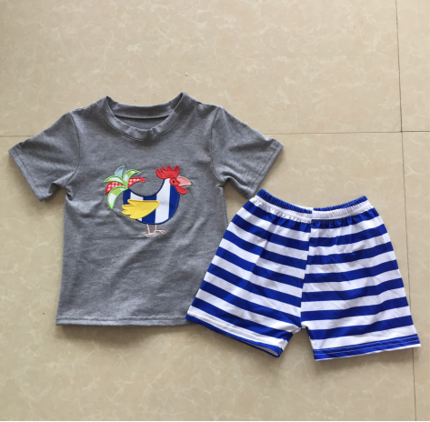 Rooster Shorts Set