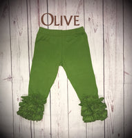 Olive Icing Leggings