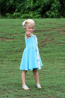 Elsa Inspired Twirl Dress