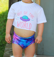 Out of This World Sublimation Tee and Bummies