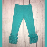 Tiffany Blue Icing Leggings
