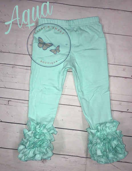 Light Aqua Icing Leggings