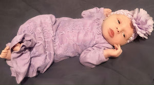 Lace & Knit Baby Gowns