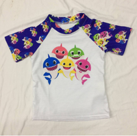 Baby Shark Short Sleeve Raglan