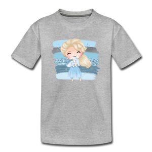Ice Queen Youth T-Shirt - heather gray