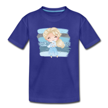 Ice Queen Youth T-Shirt - royal blue