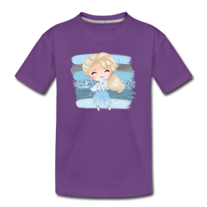 Ice Queen Youth T-Shirt - purple