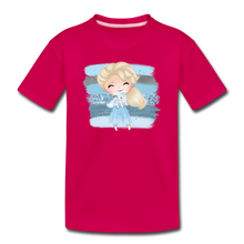 Ice Queen Youth T-Shirt - dark pink