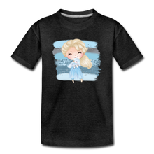 Ice Queen Youth T-Shirt - charcoal gray