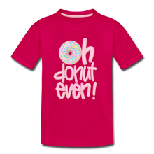 Oh Donut Even! Youth T-Shirt - dark pink