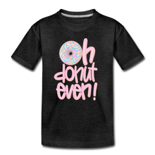 Oh Donut Even! Youth T-Shirt - charcoal gray