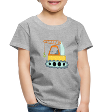 Crane Toddler Premium T-Shirt - heather gray