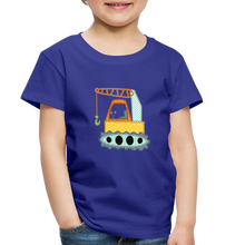 Crane Toddler Premium T-Shirt - royal blue