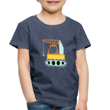 Crane Toddler Premium T-Shirt - heather blue