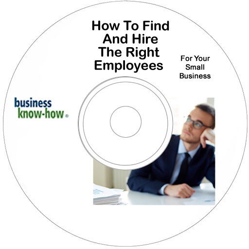 How To Find Employees  - DVD version.