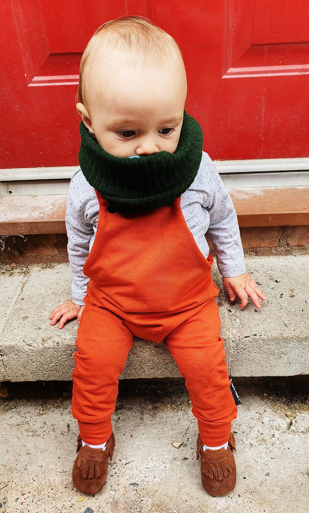 Block colour dungarees