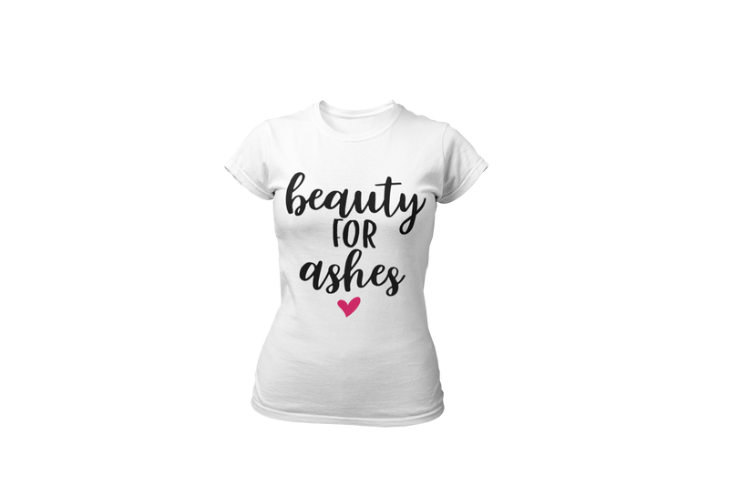 Beauty for Ashes Shirt - Women's Crew
