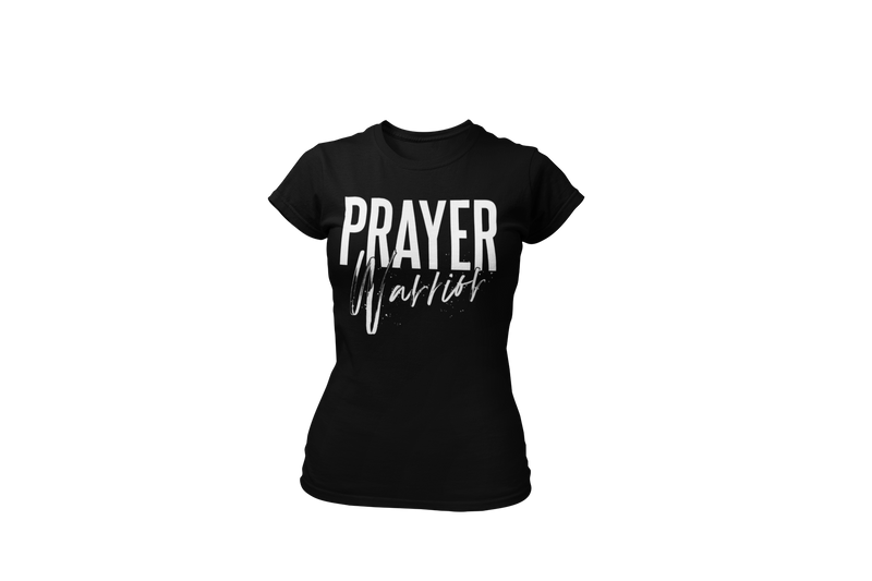 Prayer Warrior -  Women's Black