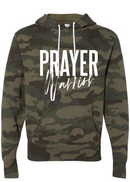 Prayer Warrior Hoodie -  Camoflauge Unisex