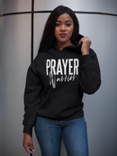 Prayer Warrior Hoodie -  Black Unisex