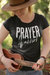 Prayer Warrior -Women's Black