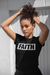 FAITH - Black Women's Crew Neck