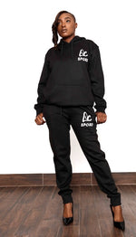 Load image into Gallery viewer, LC SPORT  SWEATSUIT - Black