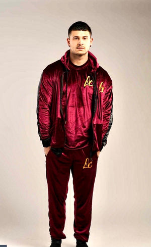 VELOUR LC LOGO SWEATSUIT SET